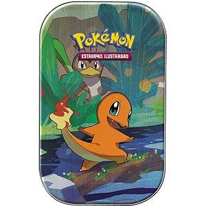 Pokémon - Deck Lata - Amigos de Kanto - CHARMANDER