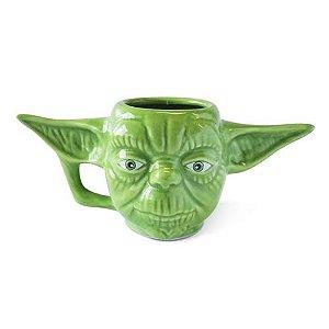 Caneca 3D  Yoda : Star Wars