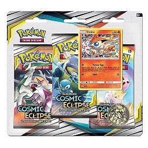 Pack Pokémon  Sol e Lua Eclipse Cósmico: Victine