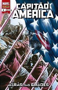 Capitão América : Atrás das grades - Volume 6