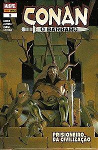 Conan, O Bárbaro - volume 3
