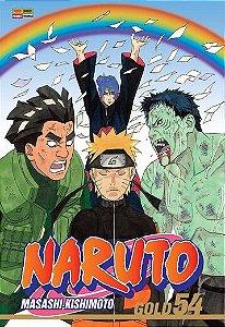 Naruto Gold -  Edição 54