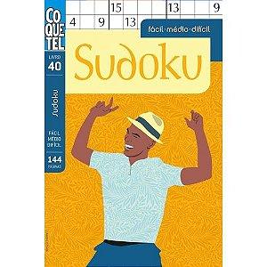 Sudoku: Fácil, Médio, Difícil - Livro 40