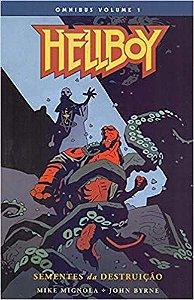 Hellboy Omnibus -  Volume 1 -  Sementes Da Destruição