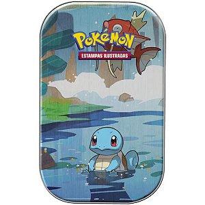 Pokémon - Deck Lata - Amigos de Kanto - SQUIRTLE