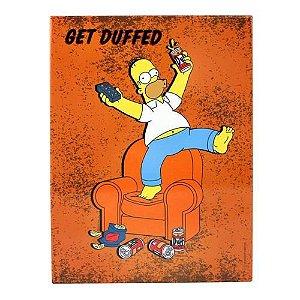 Quadro Metal Get Duff