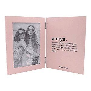 Livro Porta retrato Amiga