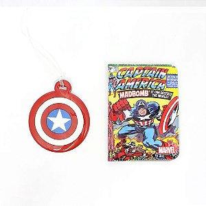 Kit Passaporte + Tag Capitão América