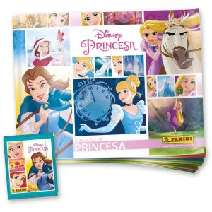 Kit 1 álbum + 12 Envelopes - Princesas