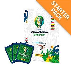 Starter Pack Conmebol Copa América 2019 + 12 envelopes Capa Dura
