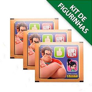 Kit de figurinhas Wifi Ralph - comtém 12 envelopes
