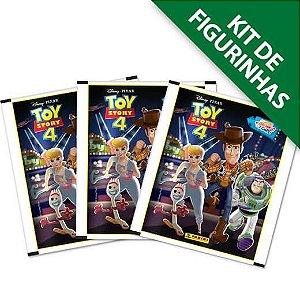 Kit de Figurinhas Toy Story 4 Contém 12 envelopes - 48 cromos + 12 cards