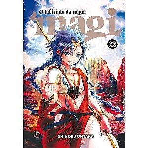 Magi: O labirinto da magia - Vol. 22