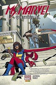 Ms. Marvel - Questões Mil - Capa Cartão