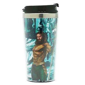Copo Termico Dc Aquaman - O Mar Te Chama 500ml