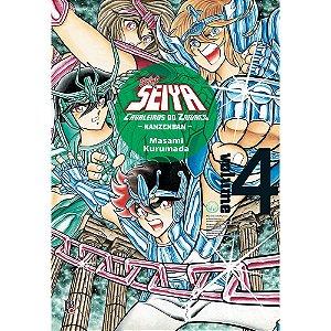 Cavaleiros do Zodíaco - Saint Seiya Kanzenban - Volume 4