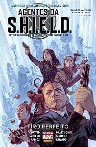 Agentes da S.H.I.E.L.D. - Tiro Perfeito - Capa Cartão