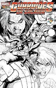 Guardiões da Galáxia 2ª Série - Edição 12 - Capa Variante