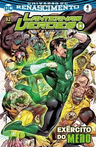 Lanternas Verdes: Renascimento - Edição 4