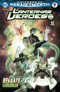 Lanternas Verdes: Renascimento - Edição 18