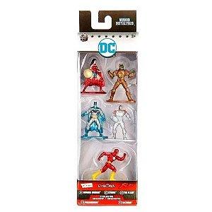 Jada Metal Nano Dc Comics Pack com 5 - DTC