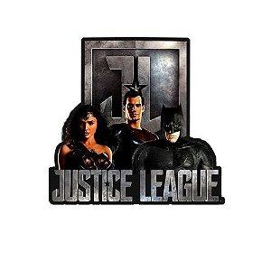 Placa Decorativa De Alumínio Movie Liga Da Justiça Filme