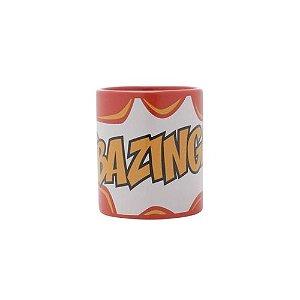 Mini Caneca Porcelana Bazinga