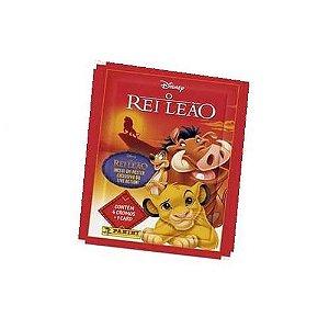 Envelope 4 Figurinhas + 1 Card Rei Leão