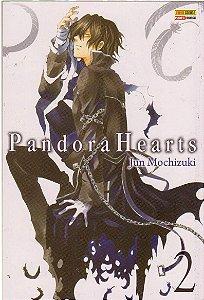 Pandora Hearts volume 2 Capa comum