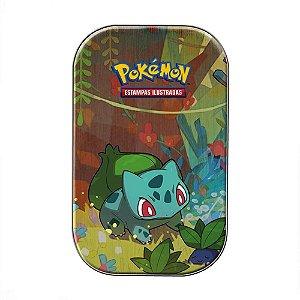 Mini Lata Pokémon Bulbasaur Amigos de Kanto