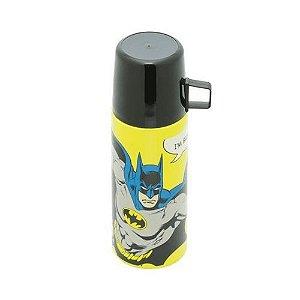 Garrafa Térmica 350 ml com Caneca Batman DC Comics