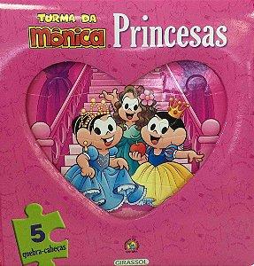 Turma da Mônica: Livro Quebra Cabeças - Princesas