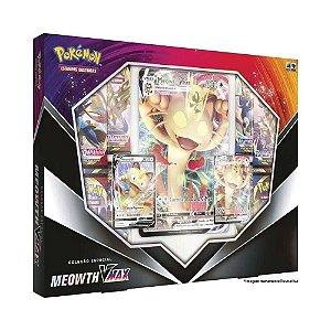 Box Pokémon Coleção Especial Meowth Vmax