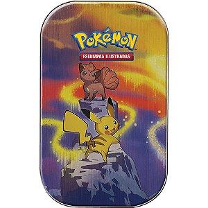 Mini Lata Pokémon Pikachu - Poder de Kanto