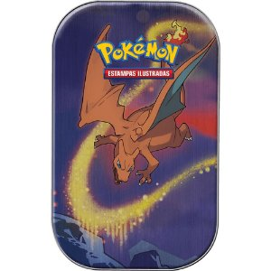 Mini Lata Pokémon Charizard - Poder de Kanto