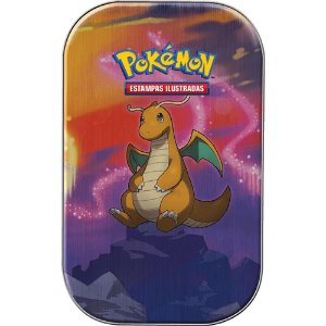 Mini Lata Pokémon Dragonite - Poder de Kanto