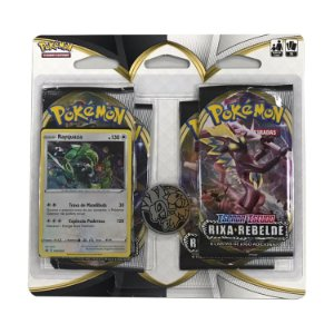 Blister Quádruplo Rayquaza Pokémon - Espada e Escudo 2