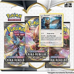 Blister Triplo Noctowl Pokémon - Espada e Escudo 2