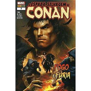 A Espada Selvagem De Conan - Volume 7