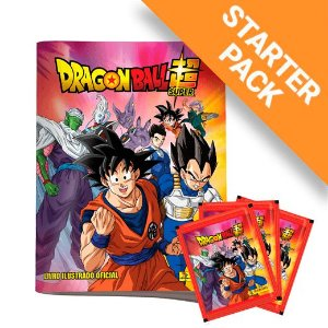 Kit Album + Figurinhas Dragon ball Super 2
