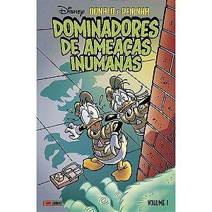 Donald e Peninha: Dominadores de Ameaças Inumanas