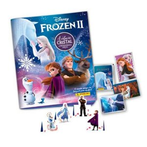 Kit Album Frozen: 12 Envelopes + 48 Figurinhas