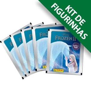 Kit Frozen 12 Envelopes e 48 Figurinhas