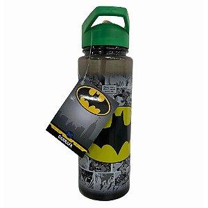 Garrafa Squeeze WB Batman Preta