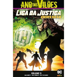 Liga da Justiça: Odisséia - Volume 3