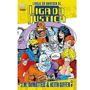 Liga da Justiça: Lendas do Universo DC - Volume 06