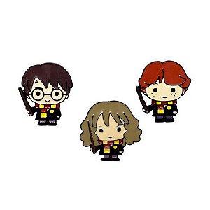 Kit C/ 3 Pins Harry Potter e Amigos
