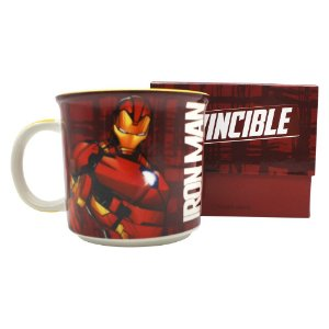 Caneca Tom 350ML: Iron Man Tie Die