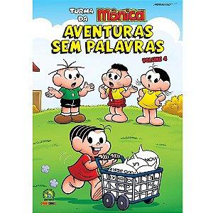 Turma da Mônica: Aventuras Sem Palavras - Volume 04