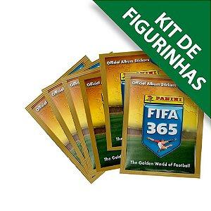 Kit de Figurinhas Fifa 365 20/21 - 12 Env, 60 Cromos